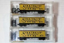 #3 PACK MTL SPECIAL RUN 58512 MICRO TRAINS  N SCALE SWIFT PREMIUM WOOD  REEFER