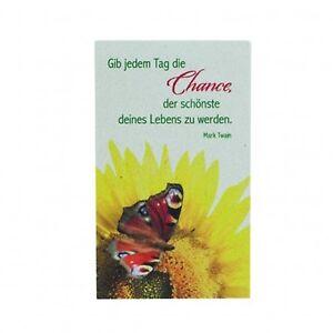Naturstein Momente - 90156069 - Gib jedem Tag die Chance ... - Höhe ca. 10 cm