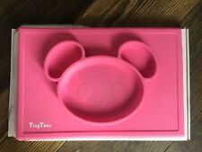TinyToes Non- Slip Silicone Placemat Pink