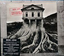 Bon Jovi This House Is Not For Sale CD NEW deluxe edition 5 extra songs