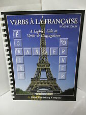 VERBS A LA FRANCAISE WORD PUZZLES - A LIGHTER SIDE OF VERB CONJUGATION PHOTOCOPY