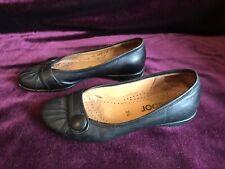 Gabor Black Flat Shoes Ballerina Size  3.5