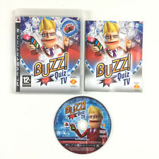 Game Buzz ! quiz TV PS3 Console Playstation 3 (without Buzzers, quiz)