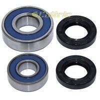 Front Wheel Ball Bearing and Seal Kit Fits SUZUKI LT160E QuadRunner 1989-1991
