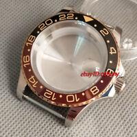 40mm Watch Case +Bezelx1 Fit ETA 2836,Miyota 8205/8215,DG2813/3804,P564-35#