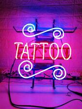 """New Tattoo Shop Open Beer Bar Neon Light Sign 24""""x20"""""""