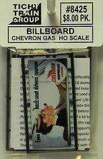 NIB HO Tichy #8425 Chevron Gas Billboard Kit