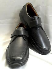 Dr Comfort Frank Black Leather Shoes 6210 Comfort Diabetic Mens Size 10 XW (EEE)