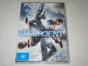 Insurgent - The Divergent Series - Brand New & Sealed - Region 4 - DVD