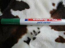 Edding 750 Lackmarker Paint Marker Rundspitze 2 - 4mm Farbe:Grün 10Stück