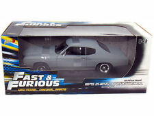 1:18 Fast and Furious 70 Chevy Chevelle SS Gray Primer by Johnny Lightning