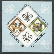 Ghana 1972 BL 45 ** Scoutisme