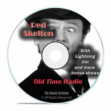 Red Skelton, 854 CLASSIC EPISODES, Comedy Old Time Radio, OTR, DVD CD G02