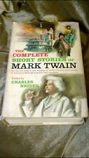 THE COMPLETE SHORT STORIES OF MARK TWAIN Charles Neider 1957 1st Edition with DJ
