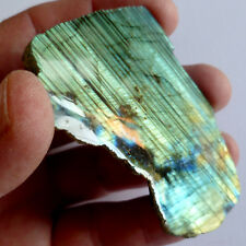 LABRADORITE One Side Polished - Great Colour / Super Quality - 80mm/77gms [A238]
