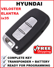 Hyundai ix35 Elantra Velster remote car key smart card fob prox Kia 2009 - 2013