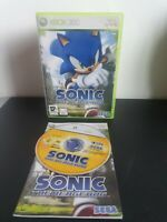 Sonic the Hedgehog Microsoft Xbox 360 - Complete - PAL - Tested working