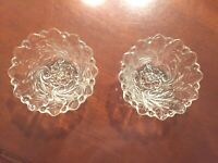 Small Leaf Bowls with Arched Edges - set of 2