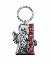 More details for iron maiden keyring killers eddie classic band logo official new metal keychain