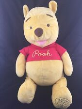 Disney Winnie the Pooh Plush Celebrating 80 Years Friendship Large Stuffed Bear
