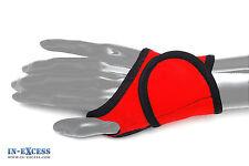 Ajustable Rojo Neopreno Palm Correa Para Muñeca Mano Wrap apoyo Brace 1 Talla Única