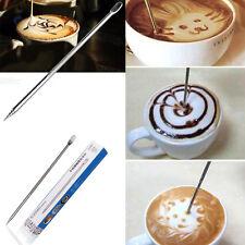 Coffee Latte Stainless Steel Art Pen Tool Espresso Machine Cafe Kitchen Popular