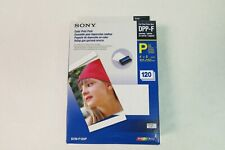 Sony SVM-F120P Color Print Pack DPP-F Brand New Sealed 120 Prints NIB Complete
