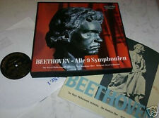 Beethoven Nine Symphonies GERMAN BLACK RCA Readers Digest Leibowitz MONO 7lps