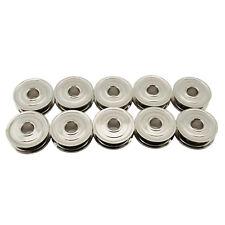 10 Metal Bobbins For Kenmore, White Sewing Machines Bobbin #744