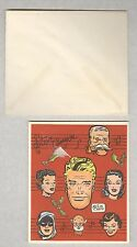 Milt Caniff 1951 Christmas Card