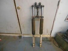 """1986 Husqvarna 125 250 400 500 510 XC EXC Cross Country 38.5"""" Front Forks Triple"""
