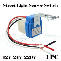 10A Auto On Off Street Light Photocell Sensor Switch AC DC 12V 24V 220V