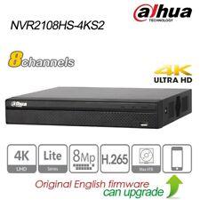 Dahua 8CH 4K UHD NVR For IP Security Camera H.265 8MP P2P HDMI NVR2108HS-4KS2