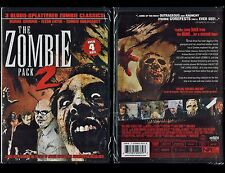 3 Zombie DVD Pack: Burial Ground, Flesh Eater & Zombie Holocaust - Brand New