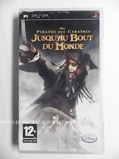 jeu PIRATES DES CARAIBES JUSQU AU BOUT DU MONDE sur sony PSP en francais disney