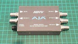AJA MINI CONVERTER HD5DA with Power Supply.