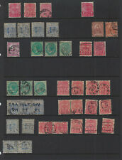 Australia-New South Wales- Early Issues-Used-Selection- Nice Cancels-#201