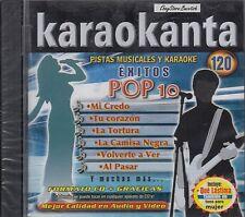 Juanes Shakira Chayanne Charlie Zaa Exitos Pop 10 Karaokanta Karaoke New Sealed