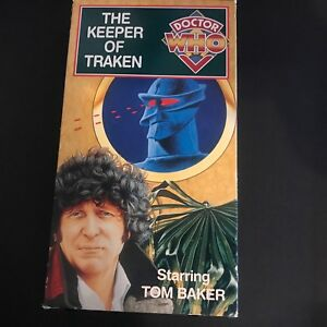 Doctor Who - The Keeper of Traken (VHS) Rare Classic, Out of Print 1994
