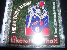 THE AFL FOOTY ALBUM I'd Like To Hear That! Football Anthem CD – Like New