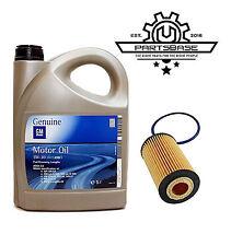 ORIGINAL Opel Inspektion Set Motoröl Dexos 2 5W30 5 Liter + AM Ölfilter 5650359