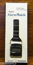Genuine Radio Shack Backlit Display Digital Chiming Alarm Wrist Watch **NEW**