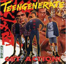 Teengenerate Get Action! Vinyl LP Record!! japanese garage punk rock album! NEW!