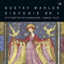 CD Gustav Mahler Sinfonie Nr. 4 Stuttgart Philharmoniker Gabriel Feltz (K62)