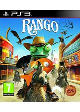 Rango Sony PlayStation 3 PS3 2011 Age 7 Game  Gamer Collector Complete Very Good
