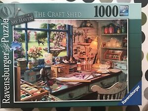 ravensburger 1000 piece jigsaw puzzle The Craft Shed