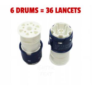 Discontinued Accu Chek Multiclix Lancets 6 drums - 36 lancets