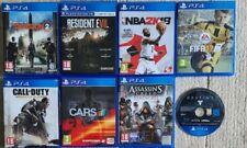 Playstation 4 ps4 Spielepaket (Tom Clancy, FIFA, Kabeljau, Resident Evil +...)