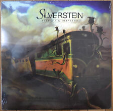Silverstein Arrivals and Departures Vinyl LP 1st Press Yellow /987 Sealed New