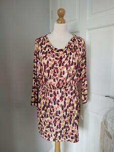 Bnwt Never Fully Dressed 16 Multi Tate Leyla Mini Dress New